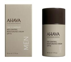 AHAVA MEN Age Control Moisturizing Cream Broad Spectrum SPF 15 50 ml