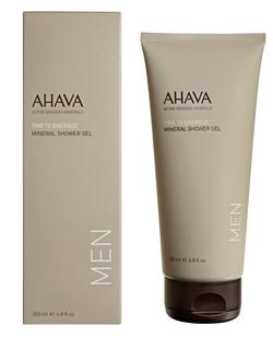 AHAVA MEN Mineral Shower Gel 200ml tube