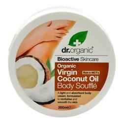 Dr. Organic Body soufflé Coconut 200ml.