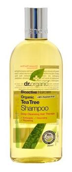 Dr. Organic Shampoo Tea Tree 265ml.