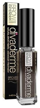 Divaderme Brow Extender II Chocolate Brown, 9ml.