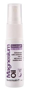 NordicHealth Magnesium Spray GoodNight Rejsestr. 15ml.
