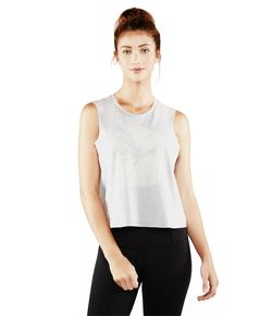 Manduka Adorn Crop Top, Feather grå
