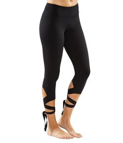 Manduka Flux Legging, Sort