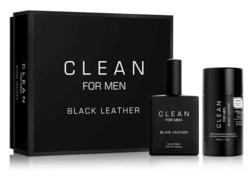 CLEAN for Men Black Leather gavesæt