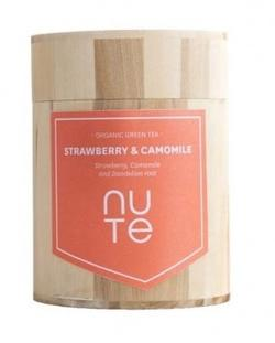 NUTE Green Strawberry & Camomille 100g.