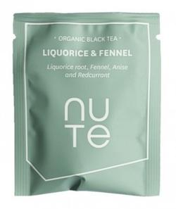 NUTE Liquorice & Fennel Teabags 10 stk.
