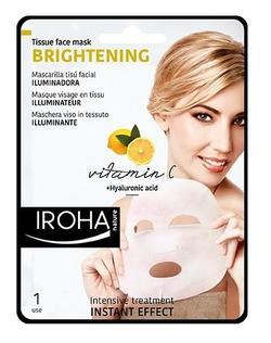 Iroha Face mask tissue brightening vitamin C 1 pk.