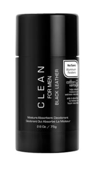 CLEAN BLACK LEATHER - DEO 75g.