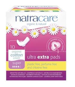 Natracare ultra extra bind super 10 stk.