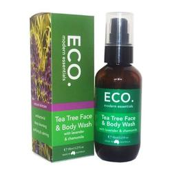 ECO Face & Body Wash Tea Tree, 95 ml.