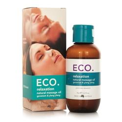 ECO Massageolie Afslappende, 95 ml.