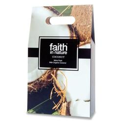 Faith in nature Gaveæske Kokos 3 x 100 ml shampoo, balsam, showergel, 1 pk.