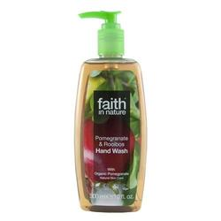 Faith in nature Håndsæbe granatæble & rooibos rooibos, 300 ml.
