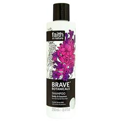 Faith in nature Shampoo lavendel - Brave Botanicals Body & Bounce, 250 ml.