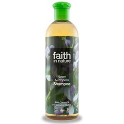 Faith in nature Shampoo neem & propolis, 250 ml.