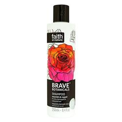 Faith in nature Shampoo rose & neroli - Brave Botanicals Nourish & Repair, 250 ml.