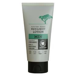 Urtekram MEN Face & Bodylotion Aloe Vera & Baobab, 150 ml.