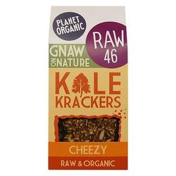 Krackers cheezy Raw Ø, 80 g.
