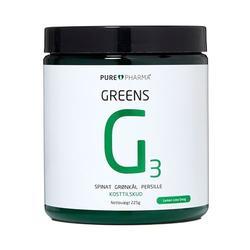Purepharma Greens G3 - Lemon Lime, 225 g