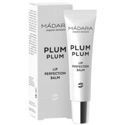 Mádara Plum Plum Lip Perfecting Balm, 15ml.