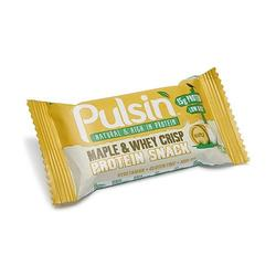 Pulsin Proteinbar Maple & Whey, 50 g
