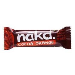 Näkd bar cacoa orange, 35 g