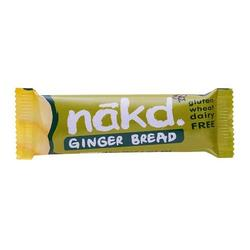 Näkd bar ginger bread, 35 g