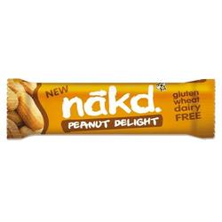 Näkd bar penut delight, 35 g