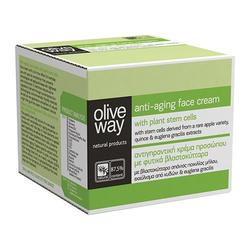 Olive Way Face cream anti-aging, 60 ml