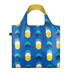 Shopper Loqi Geometric Circles Øko-Tex certificeret, 1 stk