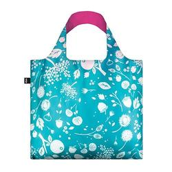 Shopper Loqi Seed Teal Øko-Tex certificeret, 1 stk