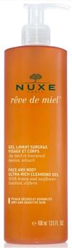 Nuxe Ultra-Rich Cleansing Gel Face and Body, 400ml