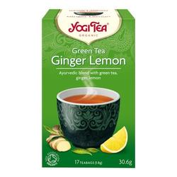 Yogi Green Tea Ginger Lemon Ø, 17 br
