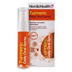NordicHealth Gurkemeje spray, 25 ml