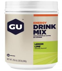GU DRINK CAN DRINK MIX - LEMON/LIME, 840g.