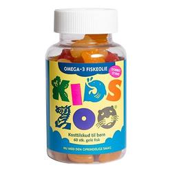 Kids Zoo Omega 3, 60stk.