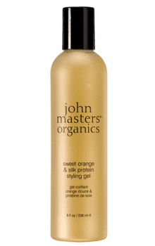 John Masters styling gel m/protein Sweet orange & silk, 237ml.