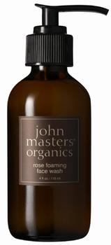 John Masters Rose foaming face wash, 118ml.