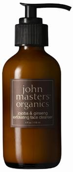 John Masters Jojoba & ginseng exfoliating face cleanser, 118 ml