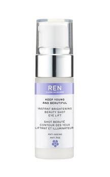 REN Keep Young and Beautiful Instant Brightening Beauty Shot Eye Lift, 15ml.