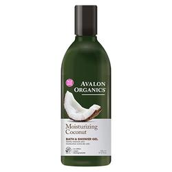 Avalon Organics Bath & Shower Gel Coconut Moisturizing, 350 ml