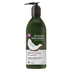 Avalon Organics Hand & Body Lotion Coconut Moisturizing, 340 g