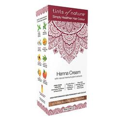 Hårfarve Henna Creme Golden Blonde Tints of Nature, 70 ml