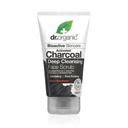 Dr. Organic Face Scrub Charcoal Deep Cleansing, 125 ml