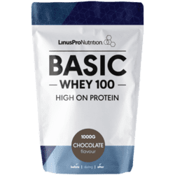 LinusPro Basic WHEY100 Proteinpulver kakao, 1kg.