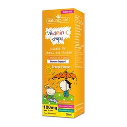 Natures Aid Vitamin C Drops, 50 ml