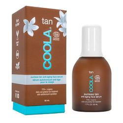Coola Organic Sunless Tan Anti-Aging Face Serum, 50 ml