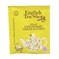 Lemongrass, ginger & citrus Ø tea - 50 breve, 1pk