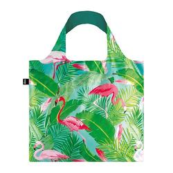 Shopper Loqi Wild Flamingos Øko-Tex certificeret, 1stk